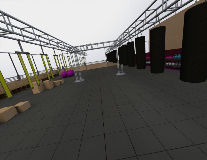 gimnasio planos 3