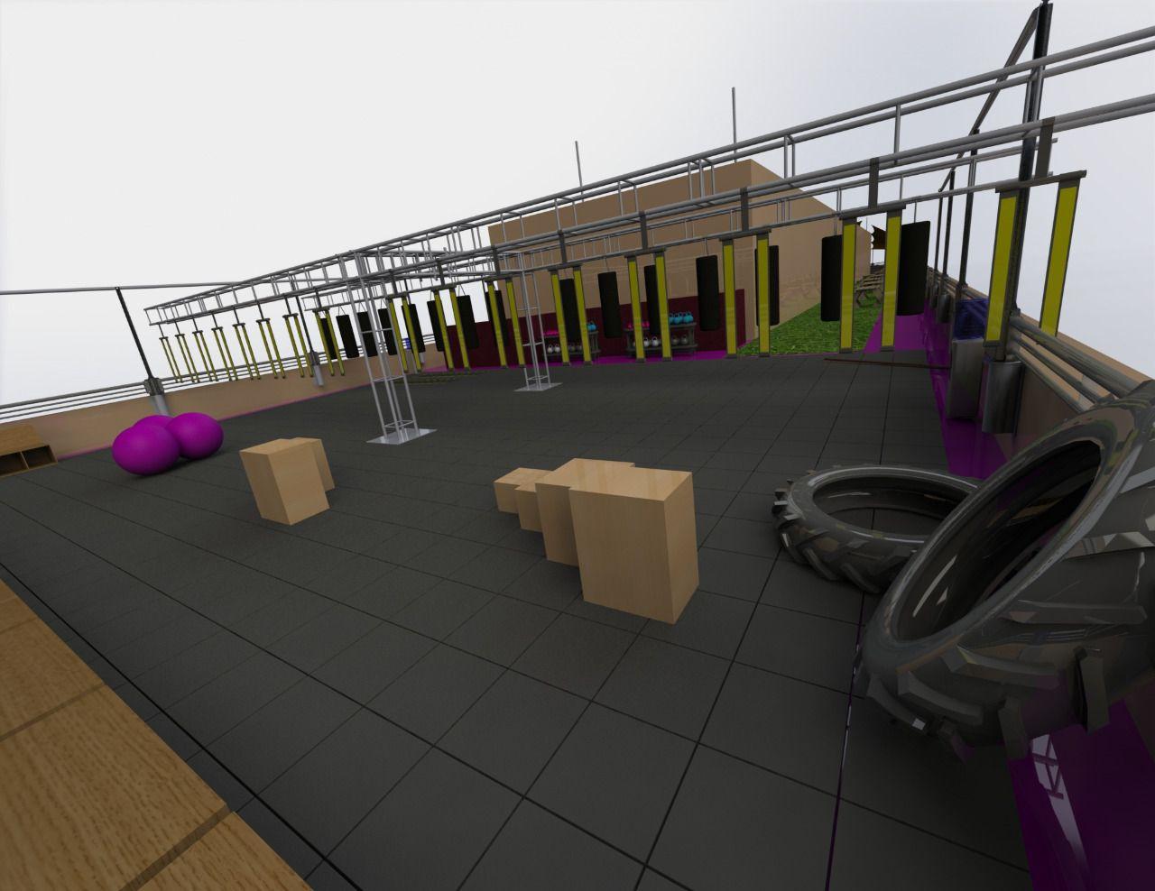 gimnasio planos 4